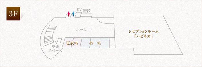 施設案内図 3F