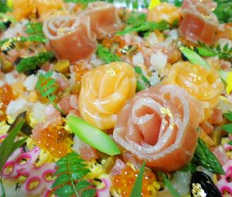 寿司ケーキ2